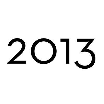 Edizioni 2013