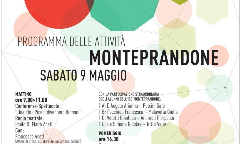 Sabato 9 maggio, programma delle attività a Monteprandone