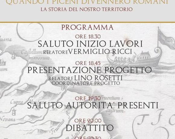 """Marche Centro d'Arte presenta il progetto """"Quando i Piceni divennero Romani"""""""